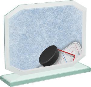 Hokejová sklenìná trofej - CRT20006M9