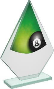 Kuleèníková sklenìná trofej - CRT20007M3