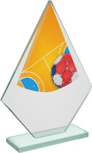 Házenkáøská sklenìná trofej - CRT20007M9