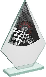 Motoristická sklenìná trofej - CRT20007M13