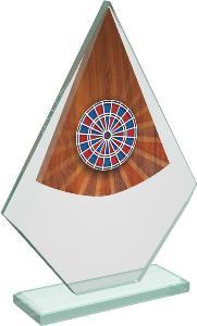 Šipky sklenìná trofej - CRT20007M17