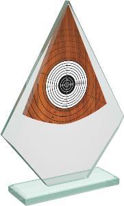 Støelecká sklenìná trofej - CRT20007M18