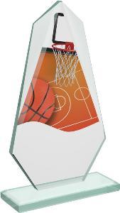 Basketbalová sklenìná trofej - CRT20008M2