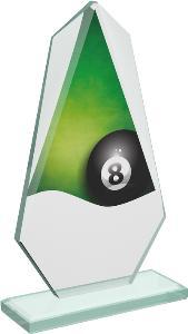 Kuleèníková sklenìná trofej - CRT20008M3