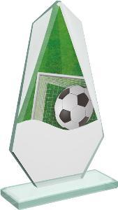 Fotbalová sklenìná trofej - CRT20008M5
