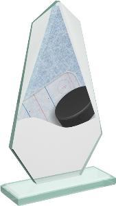 Hokejová sklenìná trofej - CRT20008M8