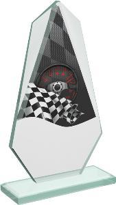 Motoristická sklenìná trofej - CRT20008M11