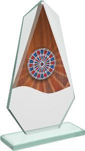 Šipky sklenìná trofej - CRT20008M16