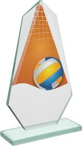 Volejbalová sklenìná trofej - CRT20008M18