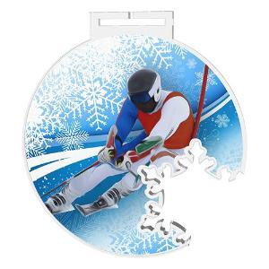 Medaile - sjezdové lyžování - MDAS0013