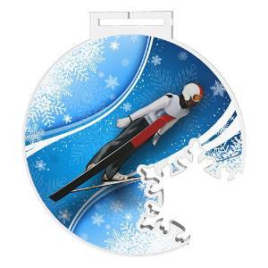 Medaile - skoky na lyžích - MDAS0018