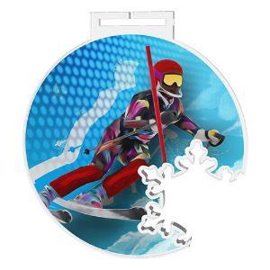 Medaile - sjezdové lyžování - MDAS0016