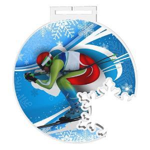 Medaile - sjezdové lyžování - MDAS0022