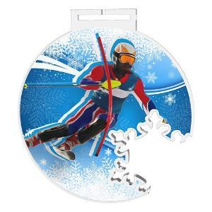 Medaile - sjezdové lyžování - MDAS0024