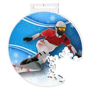 Medaile - snowboarding - MDAS0021