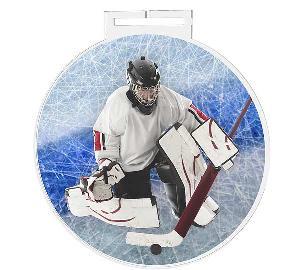 Medaile - hokej (brankáø) - MDAS0031