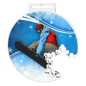 Medaile - snowboarding - MDAS0025