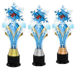 Akrobatické lyžování trofej - ACTKS0016