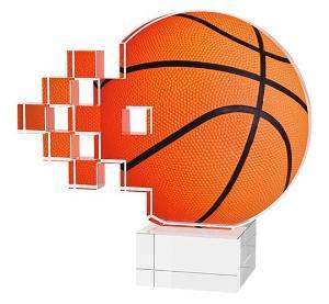 Basketbalová plaketa - ACUB1M1