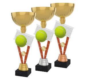 Tenisová trofej - ACUPGOLDM10
