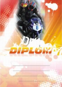 Diplom motorky - 6660