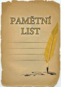 Diplom pamìtní list - 6707