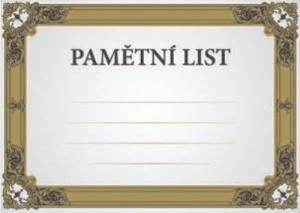Diplom pamìtní list - 6711
