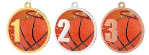 Medaile - basketbal - MDT0001M05