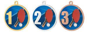 Medaile - ping pong - MDT0001M19