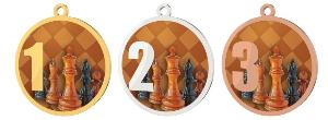 Medaile - šachy - MDT0001M23