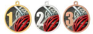 Medaile - cyklistika - MDT0001M25