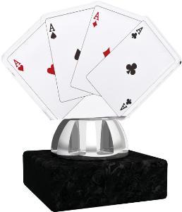 Plaketa karty - poker - ACT1201M13