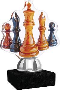Plaketa šachy - ACT1201M14
