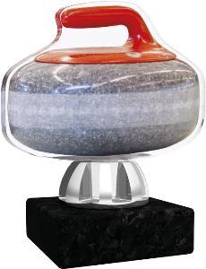 Plaketa curling - ACT1201M2
