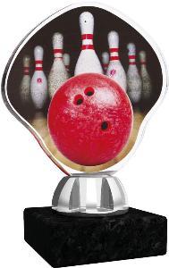 Plaketa bowling - ACT1201M8