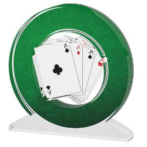 Karetní trofej - poker - ACTW0200M12
