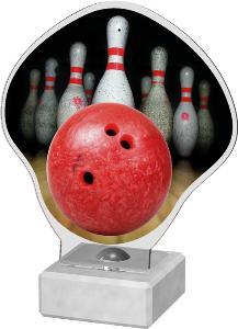 Bowlingová plaketa - AKE02M3