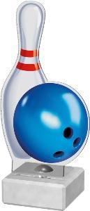 Bowlingová plaketa - AKE02M4