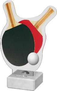 Ping pongová plaketa - AKE02M16