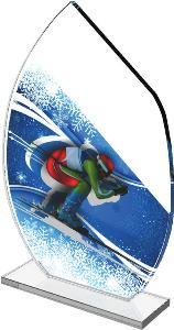 Sjezdové lyžování trofej - CRS3078M18