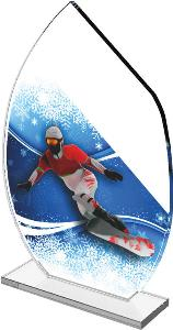 Snowboarding trofej - CRS3078M20