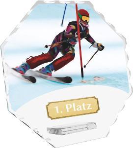 Sjezdové lyžování trofej - CRS4143M2