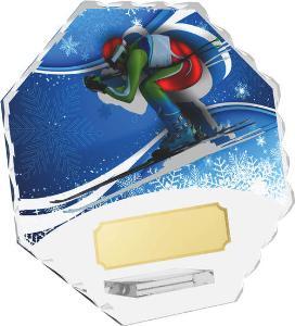 Sjezdové lyžování trofej - CRS4143M18