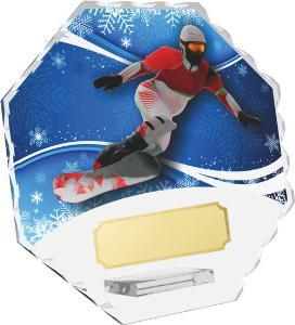 Snowboardingová trofej - CRS4143M20