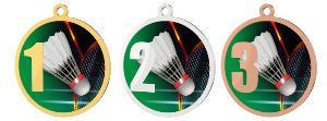 Medaile - badminton - MDT0001M08