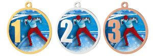 Medaile - lyžování - MDT0001M30