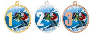 Medaile - lyžování - MDT0001M29