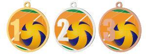 Medaile - volejbal - MDT0001M17