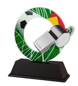 Plaketa fotbal - rozhodèí - ACLC2101M6
