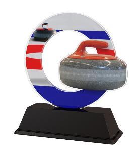 Plaketa curling - ACLC2101M23